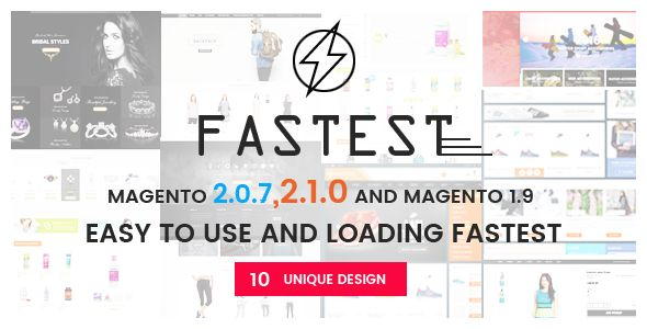 Fastest by Codazon (Magento theme)
