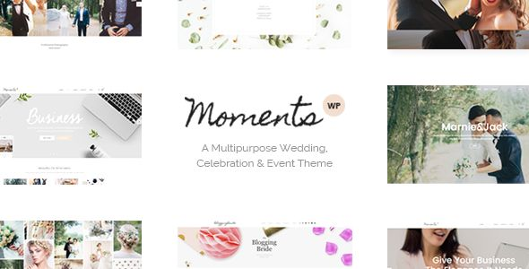 Moments by Select-Themes (wedding invitation WordPress theme)