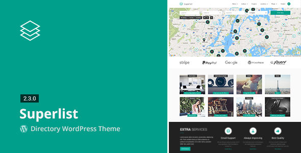 Superlist by Aviators (WordPress theme)