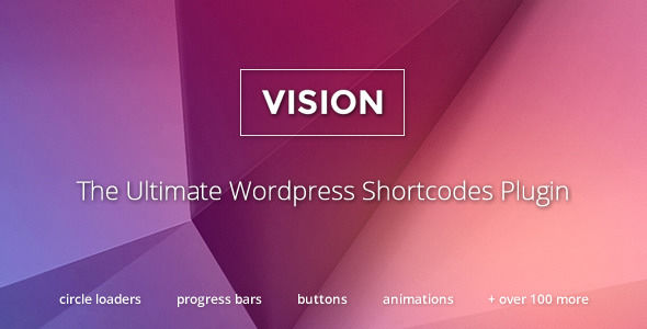 Vision by TrueThemes (pricing table plugin)