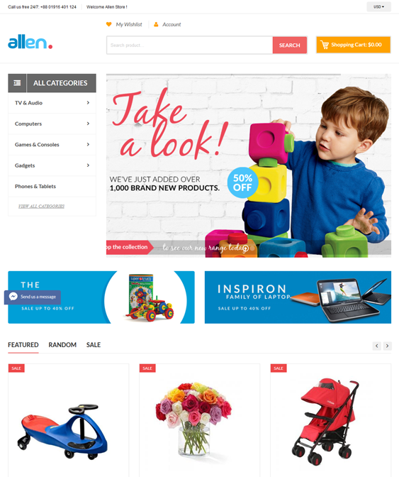 allen kids shopify themes