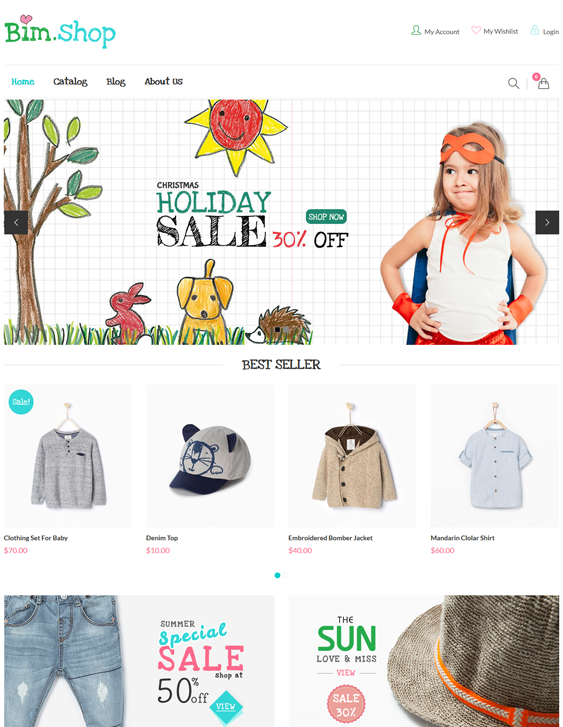 bimshop kids shopify themes
