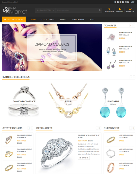 home market jewelry shopify themes