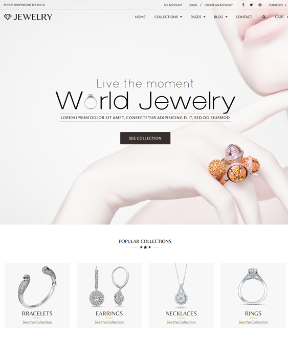 jewelry shopify themes