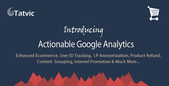 Actionable Google Analytics For Magento by Mage_tatvic (Magento extension)