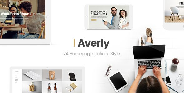 Averly by Elated-Themes (multi-purpose WordPress theme)