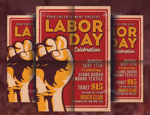 30 of the Best Labor Day Party Flyers