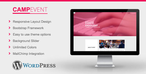 CampEvent by Stylishwp (event & conference WordPress theme)