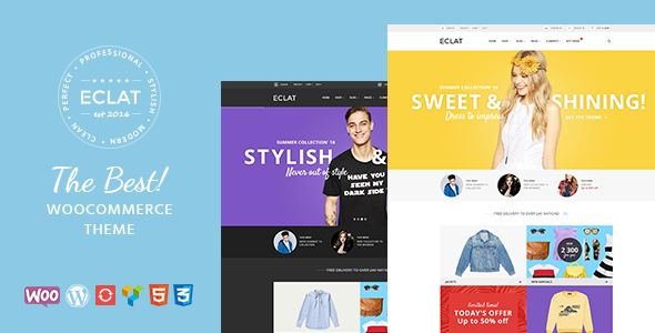 Eclat by Elartica (multi-purpose WordPress theme)