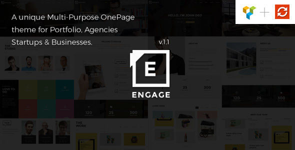 Engage by GoloThemes (multi-purpose WordPress theme)