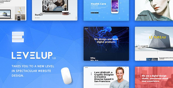 LEVELUP by GrafAS (multi-purpose WordPress theme)