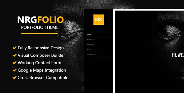 NRGFolio by NRGThemes (multi-purpose WordPress theme)