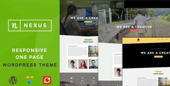 Nexus by CoronaThemes (multi-purpose WordPress theme)