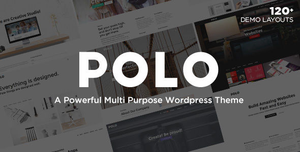 Polo by Crumina (multi-purpose WordPress theme)