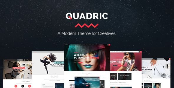 Quadric by Edge-Themes (multi-purpose WordPress theme)