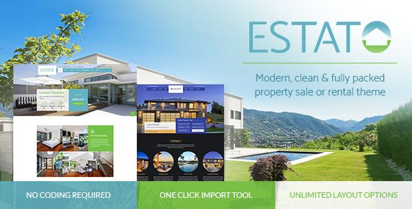 40+ Real Estate and Realtor WordPress Themes