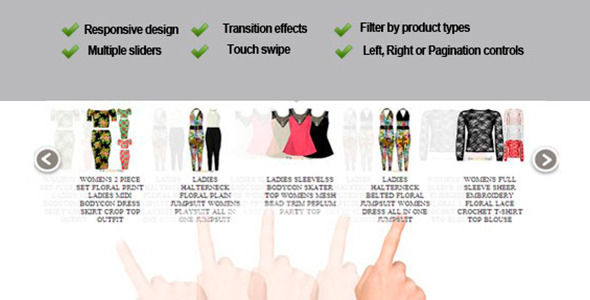 Responsive Product Slider Magento Extension by Subhansanjaya (Magento extension)