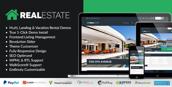 WP Pro Real Estate 7 by Contempoinc (real estate and realtor WordPress theme)