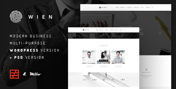 Wien by FRESHFACE (multi-purpose WordPress theme)