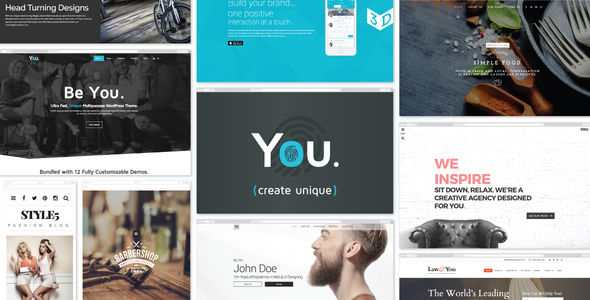 You by -ACODA- (multi-purpose WordPress theme)