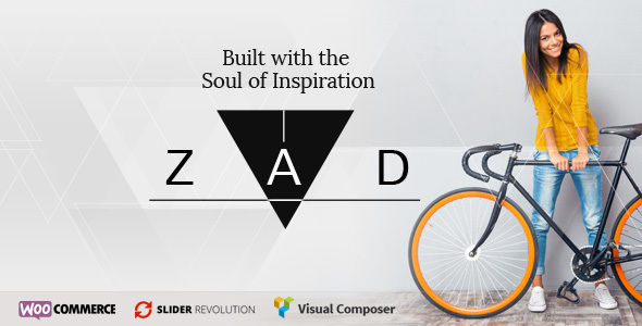 Zad by Katon (multi-purpose WordPress theme)