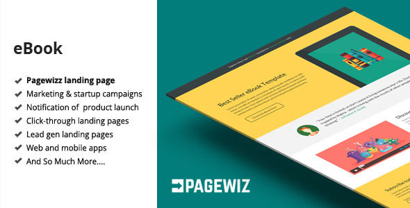 EBook by Bogdan_09 (landing page template for PageWiz)