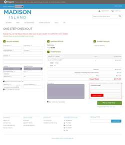 Responsive One Step Checkout