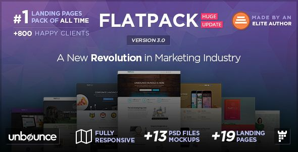 8 of the Very Best Unbounce.com Landing Page Templates