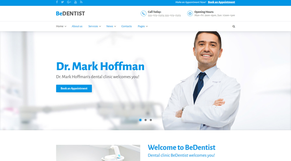 9 of the Best Medical WordPress Themes for Doctors, Dentists, Clinics, & More!