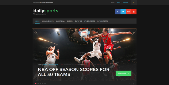 10 of the Best Sports WordPress Themes