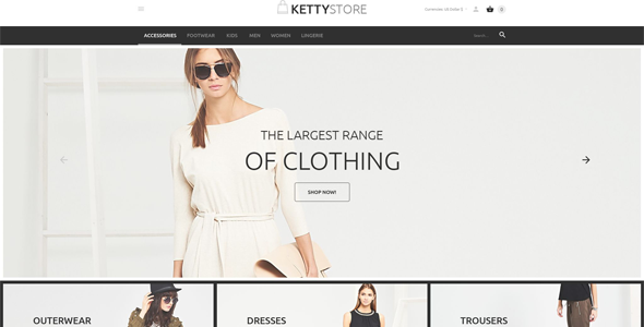12 of the Best VirtueMart Themes for Clothing, Shoes, & Accessories