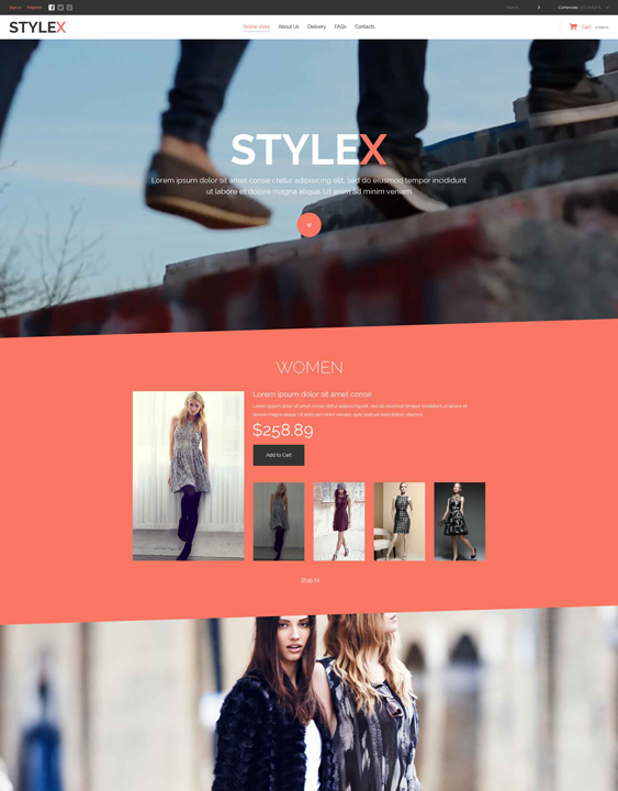 fashion clothing shoes accessories virtuemart themes
