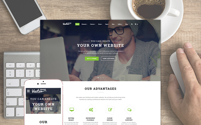 Top 15 HTML5 & JavaScript Website Templates for Business and Finance