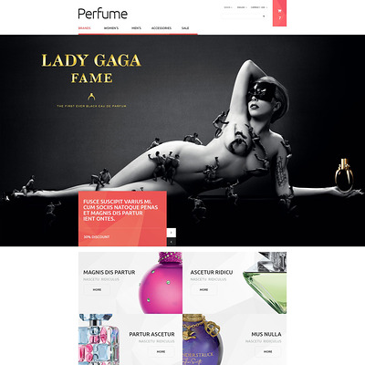 Beauty Shop PrestaShop Theme (PrestaShop theme for makeup, cosmetics, perfume, and beauty products) Item Picture