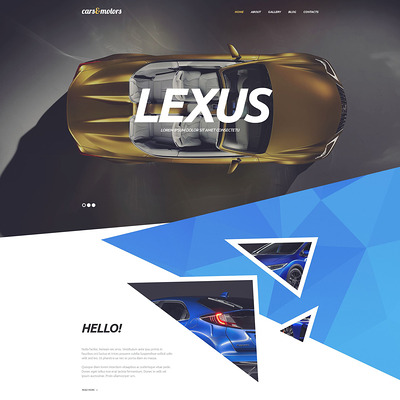Car Distribution WordPress Theme (WordPress theme for car, vehicle, and automotive websites) Item Picture