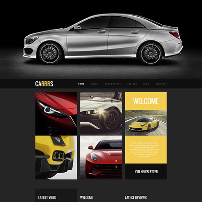Car for Proper Deal WordPress Theme (WordPress theme for car, vehicle, and automotive websites) Item Picture