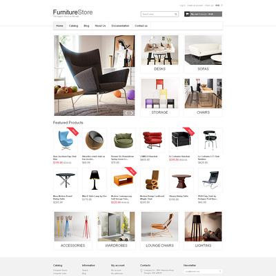 Furniture Responsive Shopify Theme (Shopify theme for furniture stores) Item Picture