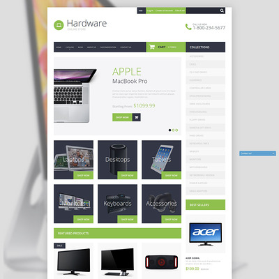 Smart Hardware Shopify Theme (Shopify theme for electronics stores) Item Picture