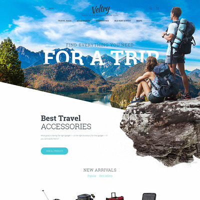 11 of the Best PrestaShop Themes for Travel Websites