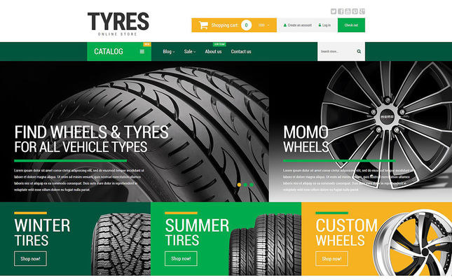 12 of the Best Car, Vehicle, & Automotive Shopify Themes