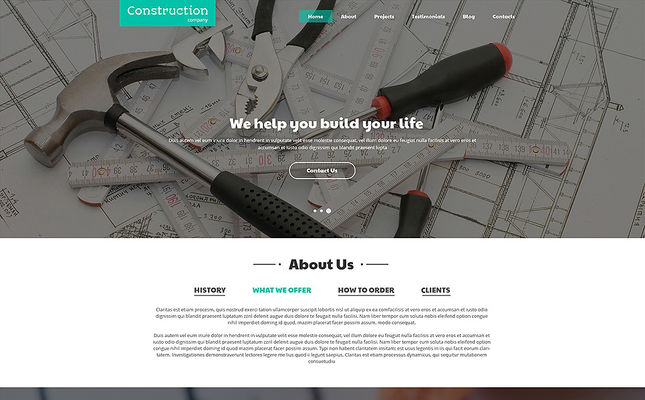 24 of the Best Joomla Templates for Construction Companies & Building Contractors