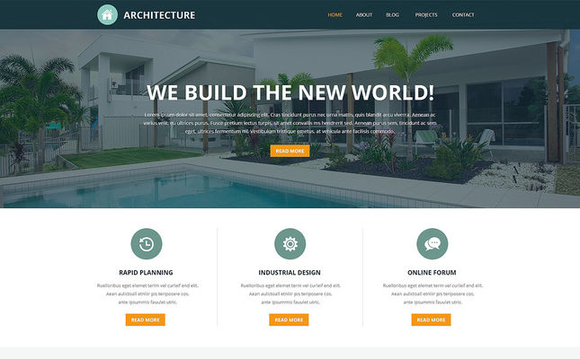 23 of the Best Architecture Joomla Templates
