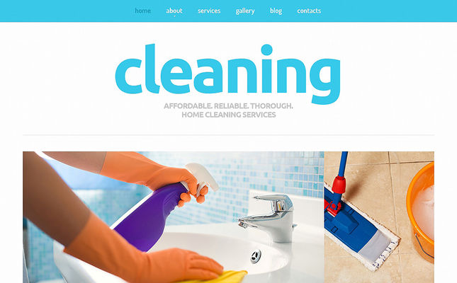 7 of the Best Joomla Templates for Cleaning Companies & Maid Services
