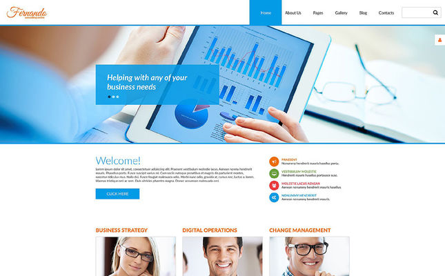 10 of the Best Joomla Templates for Consultants & Consulting Firms