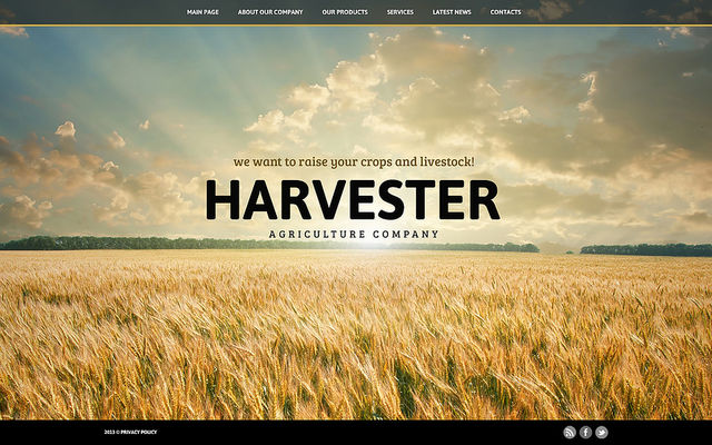 19 of the Best Joomla Templates for Agriculture & Farms