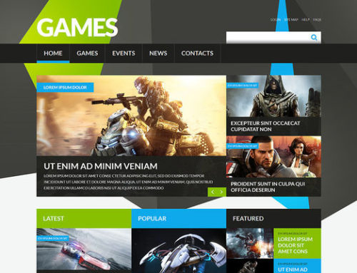 8 of the Best Joomla Templates for Gaming Websites