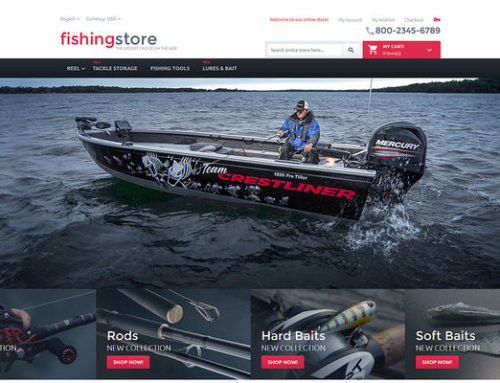 5 of the Best Magento Themes for Fishing Equipment