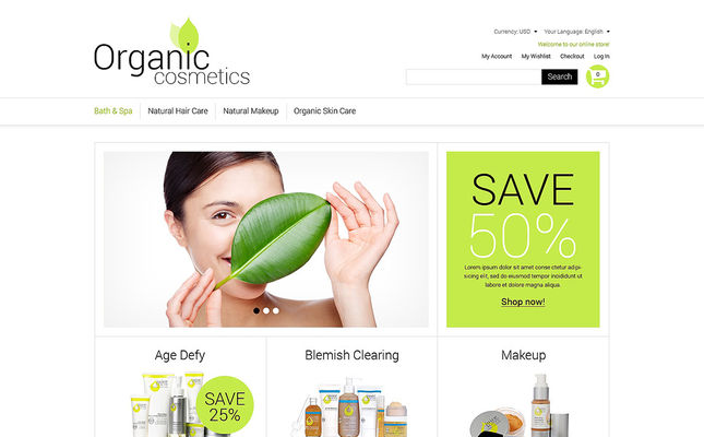 10 of the Best Magento Themes for Hair & Beauty Products