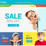 best magento themes kids babies children feature