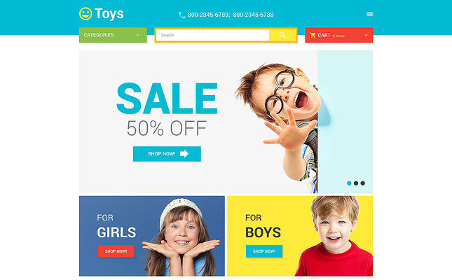 12 of the Best Magento Themes for Kids, Babies, & Children
